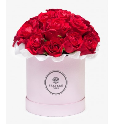 Roses in a box (15 roses in...