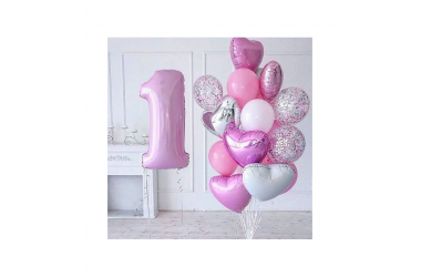 "Boy or Girl. Special balloons set ""Gender Reveal ?"""